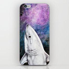 Galaxy Shark iPhone Skin