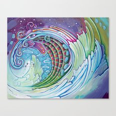 Wave of Awakening Canvas Print