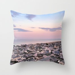 Easter Sunset Throw Pillow