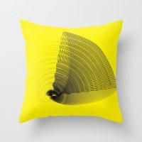 pi Throw Pillows featuring pi by Graphmob