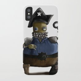 Iso, the Fat Captain iPhone Case