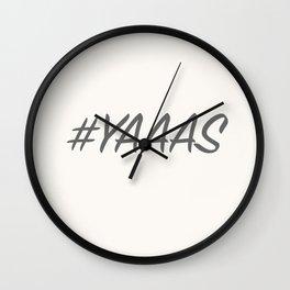 #YAAAS Wall Clock
