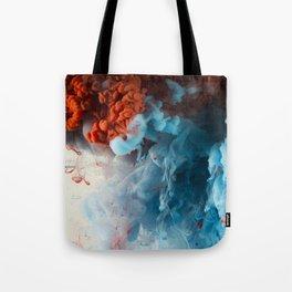 Collision II Tote Bag
