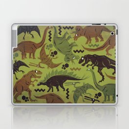 Camouflage Dinosaur Geometric Pattern Laptop & iPad Skin