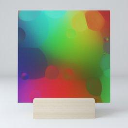 misc fantasy color drops B Mini Art Print