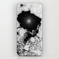 cracked iPhone & iPod Skins featuring Cracked by Andrea Orlic