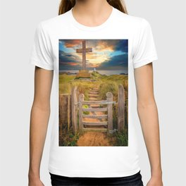 Llanddwyn Island Sunset Anglesey T-shirt