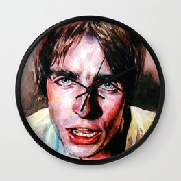Liam Gallagher Looking Up Wall Clock