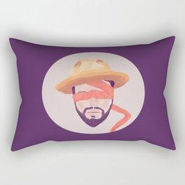 Voluntary Blindness Rectangular Pillow