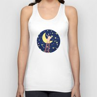 starry night Tank Tops featuring Starry Night by Roberta Jean Pharelli