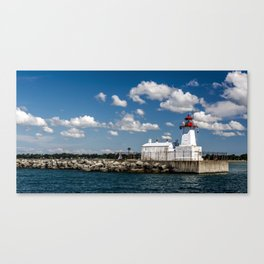 To the Light Source Canvas Print