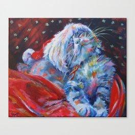 Has Santa been? Has he? Canvas Print