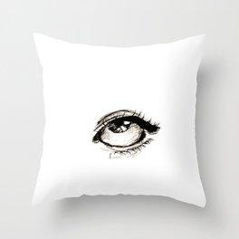 Eye. Throw Pillow