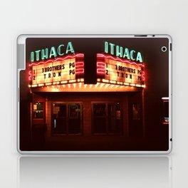 Night Lights Ithaca Theater Laptop & iPad Skin
