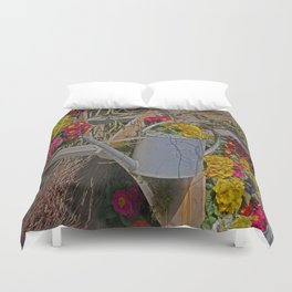 wake up Spring in Laupheim Duvet Cover