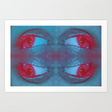 EYE AM Psy Art Print