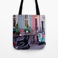 The blue shades Tote Bag