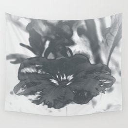 Bloom in Platinum Tone Wall Tapestry