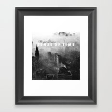 Hannah Hunt - Vampire Weekend Framed Art Print