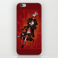 sith iPhone & iPod Skins featuring Sith Kabob  by Serkworks Pop