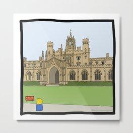 Cambridge struggles: St Johns Metal Print