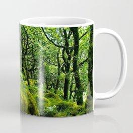 MOSSY ROCK ENGLISH FOREST Coffee Mug