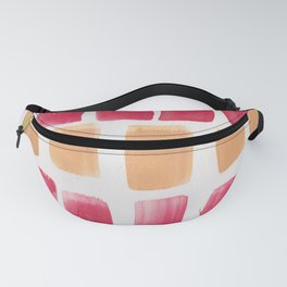 25 | 190321 Watercolour Abstract Painting Fanny Pack