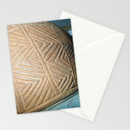 Wooden carving southwest Stationery Cards