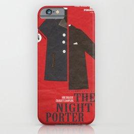 The Night Porter, movie poster, Liliana Cavani, Charlotte Rampling, Dirk Bogarde iPhone Case