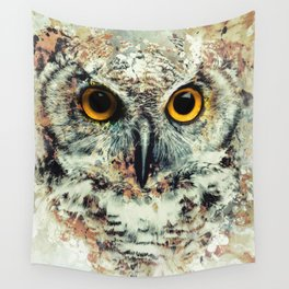 Owl II Wall Tapestry