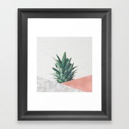 Pineapple Dip VI Framed Art Print