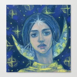 Hecate / Goddess of the Moon Canvas Print