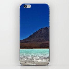 Laguna azul, Bolivia iPhone Skin