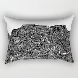 - I see a darkness - Rectangular Pillow