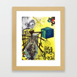 All the World; A Stage. Framed Art Print
