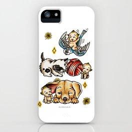 Kewpies & Baby Animals Flash  iPhone Case