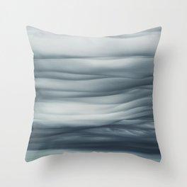 Undulatus Asperatus Clouds Throw Pillow