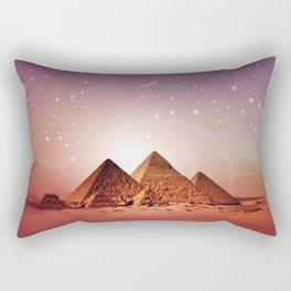 Station Pyramid Rectangular Pillow