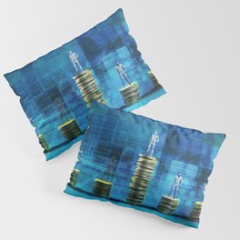 Wealth Management Services and Financial Solutions as Concept Pillow Sham