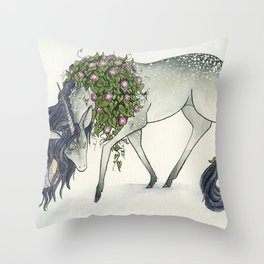 Vergo Throw Pillow