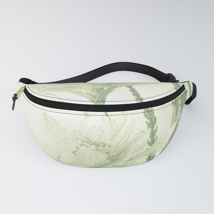 Glass flowers Fanny Pack