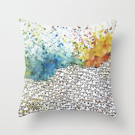 AFRICAN INSPIRATION GHETTO Throw Pillow