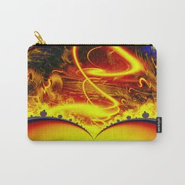 Firestorm from a double sun Carry-All Pouch