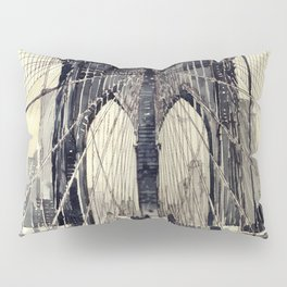 Brooklyn Bridge Pillow Sham