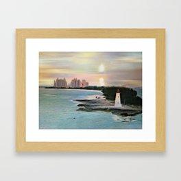 The Islands Of The Bahamas - Nassau Paradise Island Framed Art Print