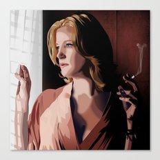 Breaking Bad Illustrated - Skyler White Canvas Print