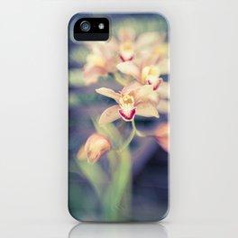 Hawaiian Orchid iPhone Case