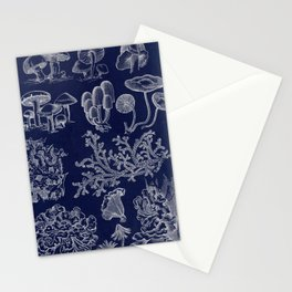 Fungus And Lichen Chart Stationery Cards
