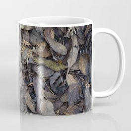Autumn Leaves in Deep Forest Coffee Mug