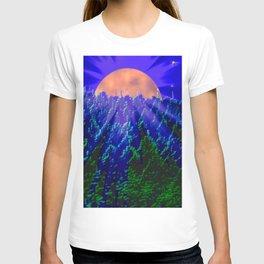 Digital moonlight T-shirt